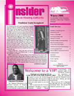 Winter 2008 Insider Newsletter